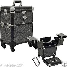 professional makeup artist organizer new professional black trolley portable cosmetic makeup