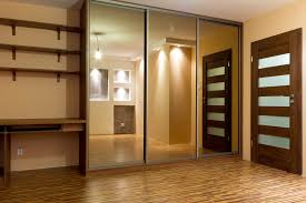 Closet With Mirror Doors Luxury Sliding Mirror Closet Doors For Bedrooms Rooms Decor And