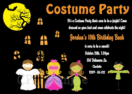 halloween party invitations for kids printable or print your own