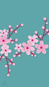 sakura cherry blossom iphone wallpaper home screen panpins