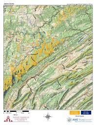 Why Do Western Maps Shrink by Pennsylvania Wind Maps St Francis University