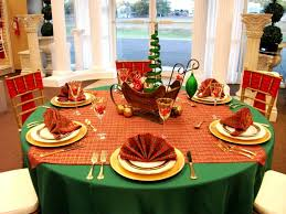 how to decorate a round table dining room modern thanksgiving dinner table settings and