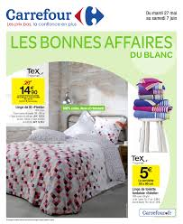 Housse Clic Clac Carrefour by Carrefour U2013 Le Blanc Collection 2017 Cataloguespromo Com