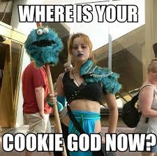 Cookie Meme - cookie god image macros
