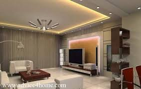 Fall Ceiling Designs For Living Room Interesting Contemporary