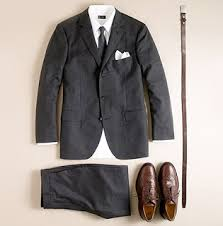 light gray suit brown shoes dandy fashioner the versatile brown shoes