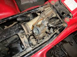 suzuki king quad 4x4 how to remove the throttle cable from the