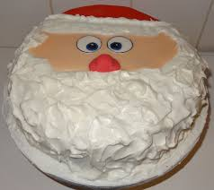 hours of fun 2015 christmas cake santa clause 10 inch round