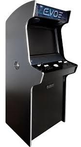 evo stand up arcade cabinet bespoke arcades