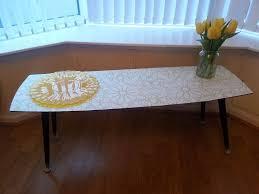 retro upstyled upcycled 60s coffee table in bloomfield belfast