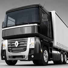 renault truck magnum 3d renault magnum 480 cgtrader