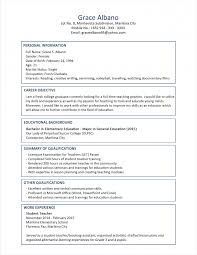 sample resume format for fresh graduates two page create your own