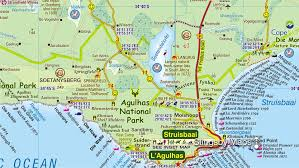 Map Of Equator Overberg Whale Coast More Information