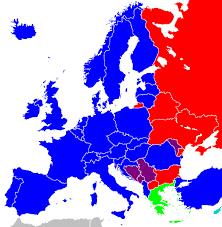 Europe Language Map by European Union National Language