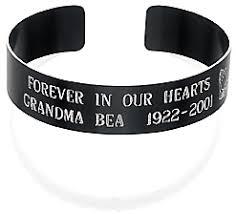 Customized Engraved Bracelets Custom Memorial Bracelets Order At Memorial Bracelets Dot Com