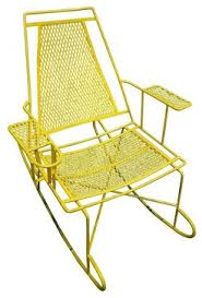 Patio Rocking Chairs Metal Vintage Metal Outdoor Rocking Chair Modern Chairs Home Sweet