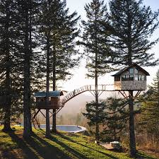 this 20 something built an amazing tree house live in because