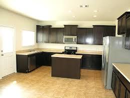 kitchen with dark cabinet u2013 sequimsewingcenter com