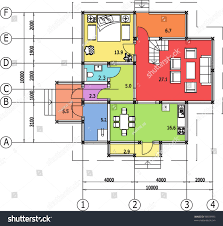 Auto Cad Floor Plan by Simple Architecture Drawing In Autocad Cad On Intended For