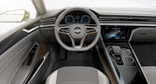 volkswagen concept interior new vw sport coupe concept gte slots between passat and phaeton