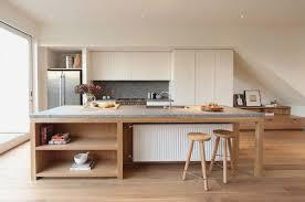 amenagement ilot central cuisine cuisine ilot table fresh cuisine moderne avec ilot central