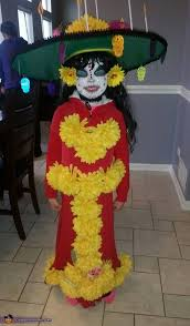 La Muerte Costume The Book Of Life La Muerte Costume For Girls