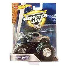 wheels monster jam 25th anniversary mohawk warrior dwn08