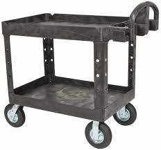rubbermaid service cart with cabinet rubbermaid utility carts mscdirect com