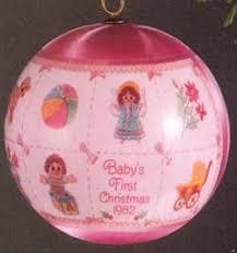 1982 baby s mib hallmark ornament at