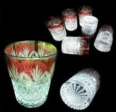 bicchieri boemia 36 migliori immagini vetri su vaso boemia e vasi