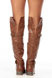 tan biker boots tan faux leather over the knee quilted biker boots cicihot boots