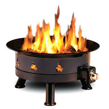 Portable Gas Firepit Cing Gas Pit The Big Sky Cfire Pit Ring Made From