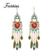 Colorful Chandelier Earrings Online Get Cheap Chandelier Bead Earrings Aliexpress Com