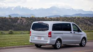 mercedes minivan 2017 mercedes metris review a passenger van but not a family van