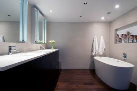 Contemporary Tile Bathroom Linen Porcelain Tile Bathroom Contemporary With Ceramic Tile