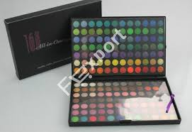 cheap professional makeup 168 color eyeshadow mineral professional makeup palette kit