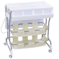 Changing Table Bath Costway Rakuten Costway Infant Baby Bath Changing Table