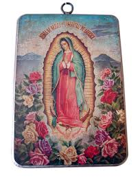 Home Decoration Accessories Wall Art Large Religious Plaques U2013 Set Of Two Mexican Metal Wall Art