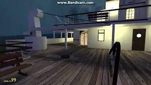 Gmod Adventure Maps Gmod Titanic Sinking Map Youtube
