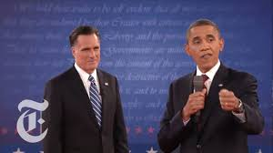 Romney Obama Map Obama Vs Romney Complete Second Presidential Town Hall Debate