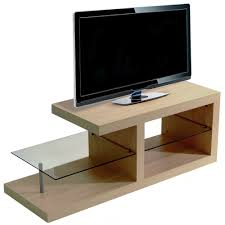 halo chunky tv stand entertainment unit coffee table oak
