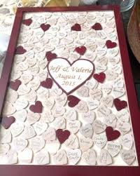 large wedding guest book large drop box style wedding guest book guest book of the wood