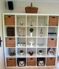 Bookcase With Baskets Kallax Shelf Unit Black Brown Ikea Expedit Romantic Dinners