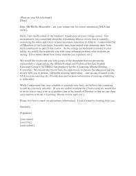 mla cover letter sample best letter sample
