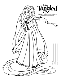disney tangled coloring pages printable rapunzel colouring pages