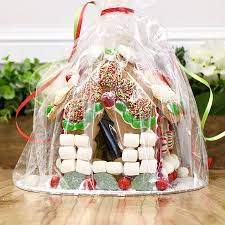 christmas gingerbread house making