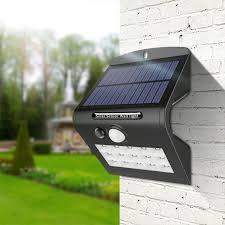 driveway motion sensor light aimengte 15leds solar panel charge motion sensor light wireless