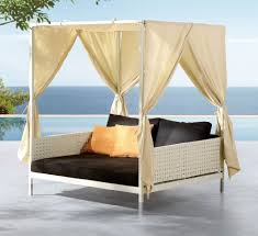 furniture outdoor daybed with canopy daybed canopy rattan day bed