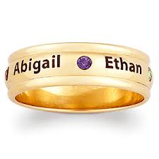 ring with children s names affordable mothers rings rings for 50 that don t look cheap