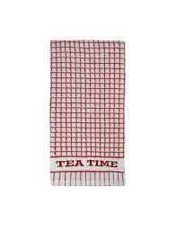 ponden home pack of 2 extra large cook words tea towels red